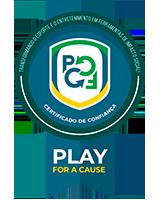 Certificado de Confiança Play For a Cause