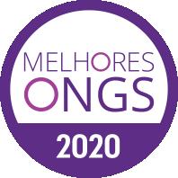 Selo de certificação - Melhores ONGS do Brasil 2020